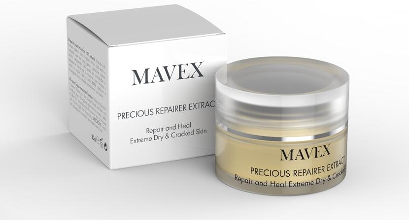 Švýcarská pedikúra Mavex